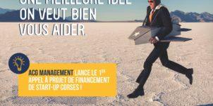 ACG Management lance le premier appel à projets destiné aux start-up corses