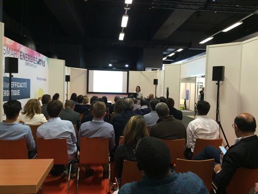 Keynote sur l'utilisation de la Blockchain dans l'énergie par le cabinet Brun-Cessac