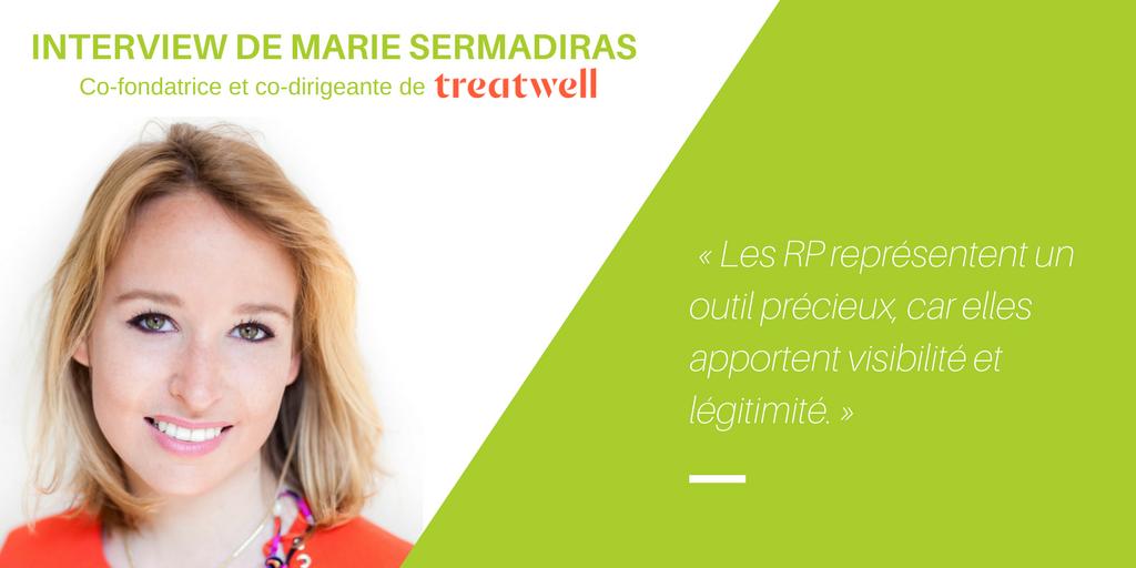 Marie Sermadiras « La communication a eu un rôle fondamental dans le développement de Treatwell »