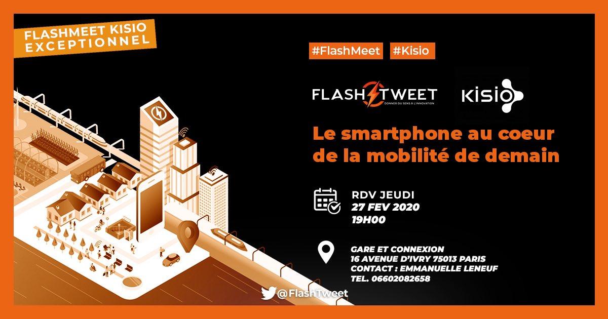 Flashback sur le #Flashmeet de Kisio